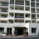 Royal Regency Exterior - like an apartment building