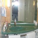 Una parte del bagno