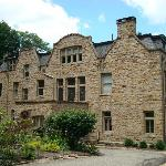 Exterior of mansion