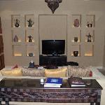onebedroom villa- salotto
