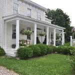 The exterior of The Morning GLory B&B in Greenport