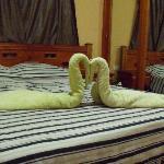 La cama. Le lit.