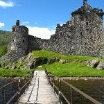 Kilchurn Castle from the pier