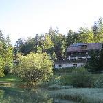 Hotel Milka from Lake Jasne
