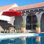 RotoVegas Motel Rotorua Outdoor Heated Pool