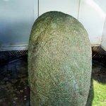 Troe Stone in shed