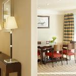 Presidential suite salon