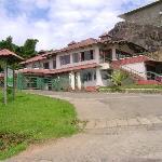 Entrance of Ayur County resort
