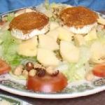 Ensalada de quesos asturianos