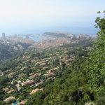Monaco from Haut Corniche