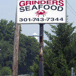Grinders sign on Indian Head Highway