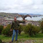 Puno - La ciudad desde el mirador El Condor