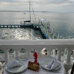 Speisen mit Meerblick