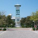 The Bell Tower in the center of Carillon Beach.