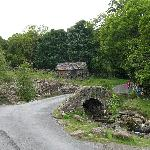 Ashness bridge, just below Ashness Farm