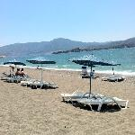 beach at calis, in front of the Bahar Hotel