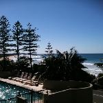 view from balcony Clubb Coolum