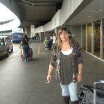 Aeropuerto de Río, llegando a Brasil