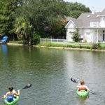 kayakers on Bayou St. John
