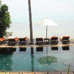 Pool area of Villa #12