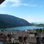 Il lago di Molveno visto dalla nostra camera
