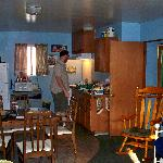 Roomy and nice kitchen.