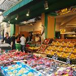 Rue de Buci market