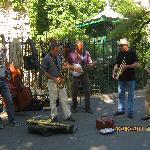 Street singers near St. Germain de Pres