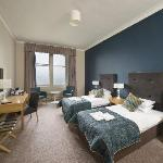 An upgraded Room at the Bay Glenburn Hotel