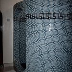 Large Circular shower, amongst many other features!