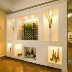 Bay Majestic Bournemouth Wine Display
