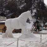 Festival international de sculpture sur neige