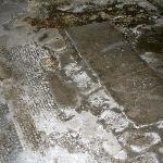 1st-2nd century Roman mosaic floor in the basement