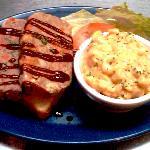 Mmmmm... Meatloaf and Mac n Cheese