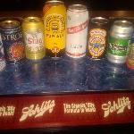Who knew so many different types of beers came in cans?  We have over 97.