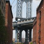 Manhattan Bridge From Brooklyn