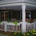 Loved this porch area