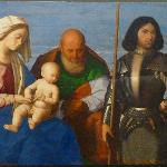 Holy Family with St. George, Vincenzo Catena, Museo Regionale, Messina