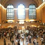 I was lost in this super busy Grand Central Terminal