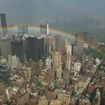 After the storm from 102nd floor of Empire State building