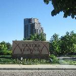 Entrance to Hampton Inn Hotel Denver Tech Center