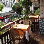 Rosewood Cafe balcony