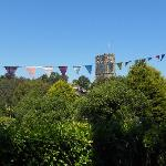 Village fete at nearby Stokenham
