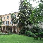 Villa Cavadini from the garden