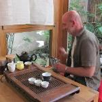 'verkostung' tea tasting