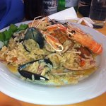 seafood risotto-delicious!