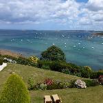 La vue sur la baie de Morlaix