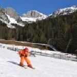 hauseigener Skilift vor dem Hotel