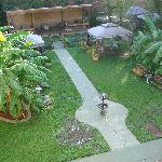Back yard, parking available in back