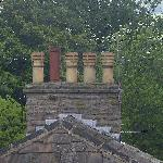 Classic chimney pots (Just like on CORONATION STREET)